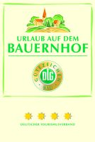 Gütezeichen vom Deutschen Tourismusverband, 4 Sterne für Urlaub auf dem Bauernhof